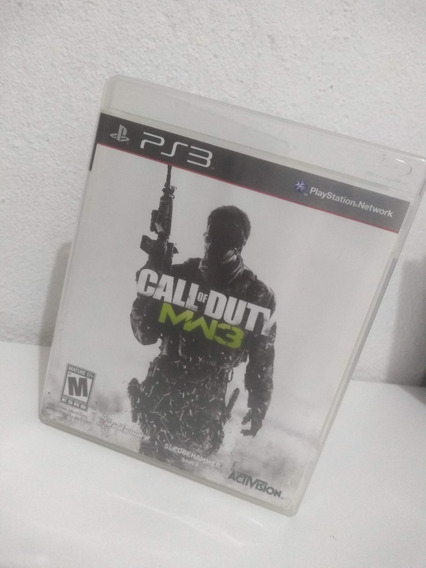 Call Of Duty Mw3 Ps3 Usado