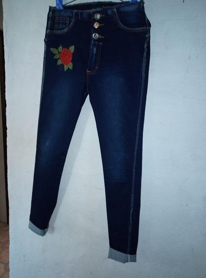 Jeans Studio F, Corte Alto, , Talla 6 10, 13/14