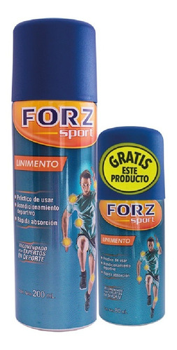 Oferta Linimento Forz Spray X 12% X 200ml + 80ml