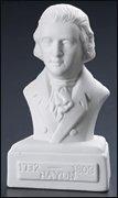 Busto De Haydn En Porcelana Blanca 5