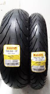 Llantas Pirelli 150/60-17 Y 110/70-17 Angel City No / Cam