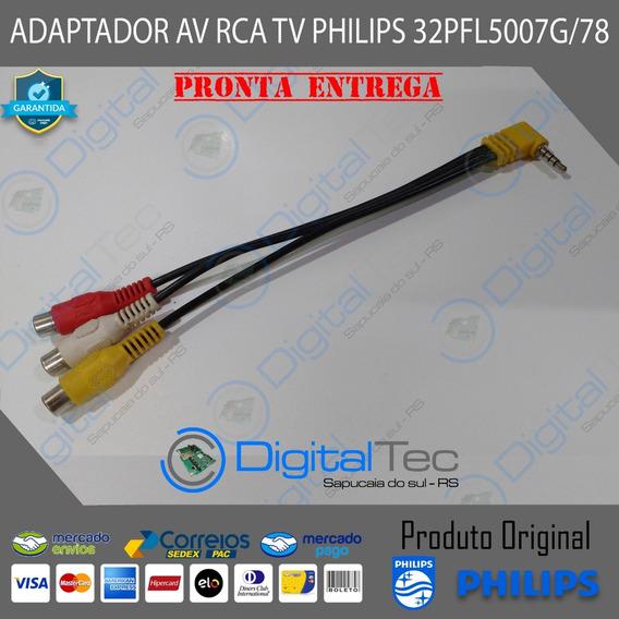 Adaptador Av Rca Tv Philips 32pfl5007g/78 42pfl5007g/78