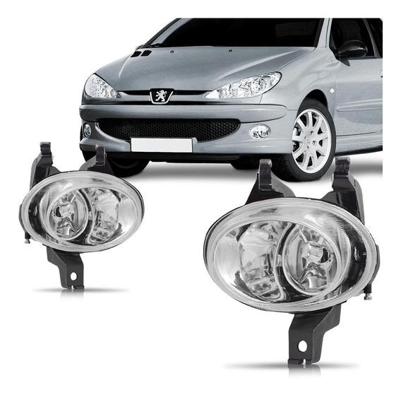 Par Farol Milha Peugeot 206 98 99 2000 2001 2002 2003