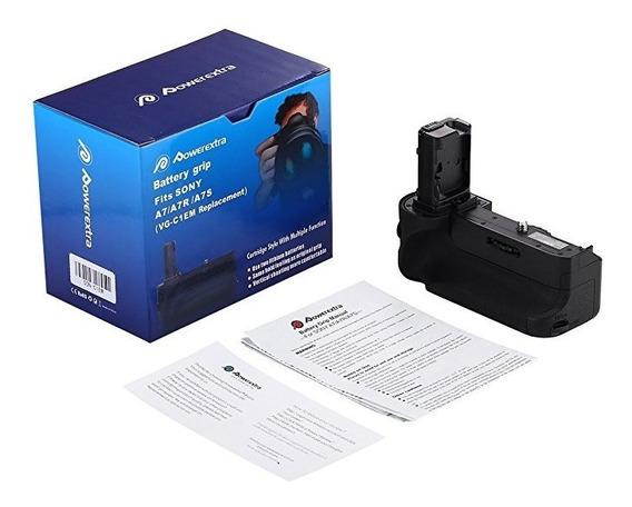 Battery Grip Vg-c1em Powerextra Para Sony A7 A7r A7s