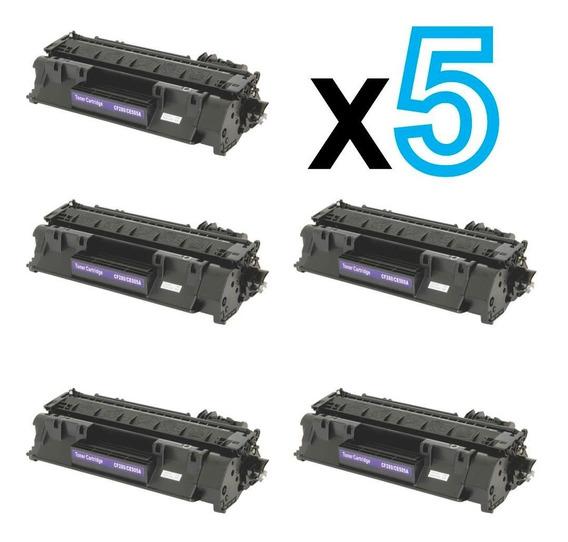 5 Toner Compatível Com 505a/280a