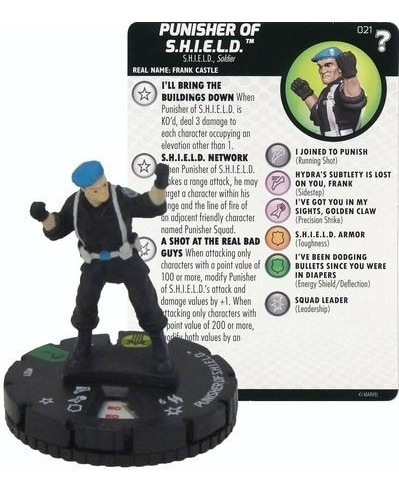 Heroclix - Punisher Of S.h.i.e.l.d. #021 - Marvel - What If?
