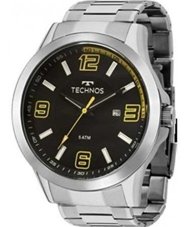 Relógio Technos Masculino Sport Classic Aço Inoxidável