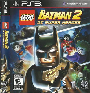 Ps3 Lego Batman 3 Dc Super Heroes
