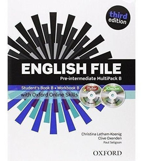English File Pre Intermediate Multipack B 3rd Ed. - Oxford