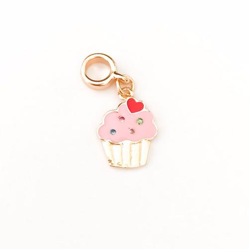 Imagem 1 de 1 de Berloque Cupcake - Bd_567