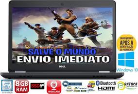 Notebook Dell E5470 I5-6200u 8gb M.2 120gb Touch Full Hd