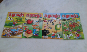 Lote Revistas A Granja Kids N° 48 49 52 54