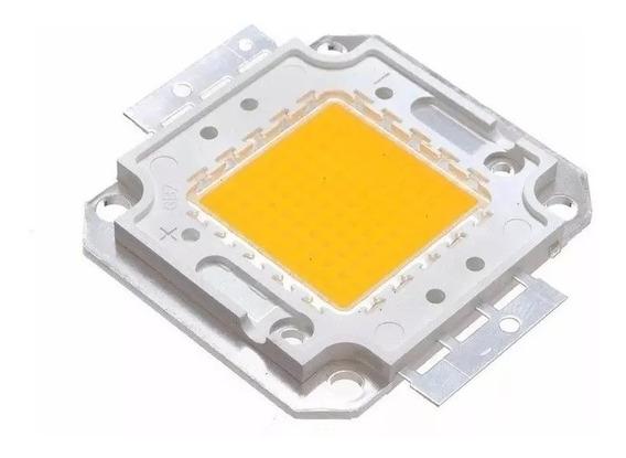 10 Chip Led 50w Para Refletor Luz Amarela Ou Luz Branca