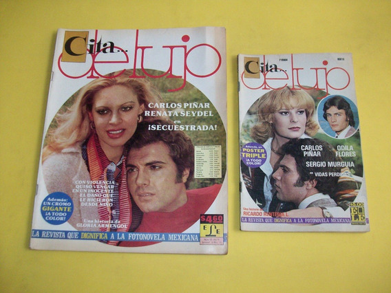 Revista Fotonovela Cita De Lujo Carlos Piñar 1974 Y 1978