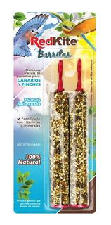 30 X Barra Semillas Canarios Y Finches 2pzas 36g C/u Redkite