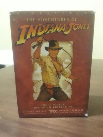Set De Peliculas Dvd Indiana Jones