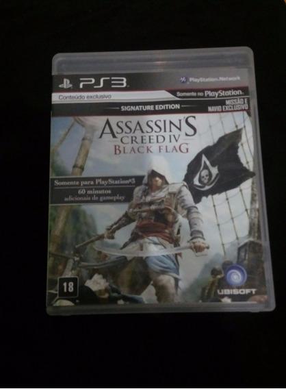 Assassins Creed Iv - Ps3 - Carta Registrada R$ 12