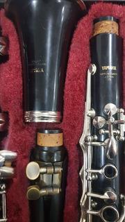 Clarinete Yamaha 251 Japones En Madera