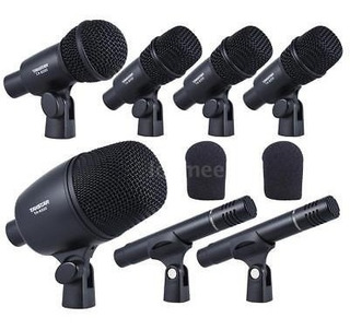 Takstar Dms-7as Profesional Con Cable Micrófono Mic Kit De