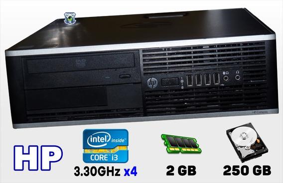 Cpu Hp Pro 6300-sff Intel Core I3 3.30ghz, Hd 250gb, 2gb De Ram