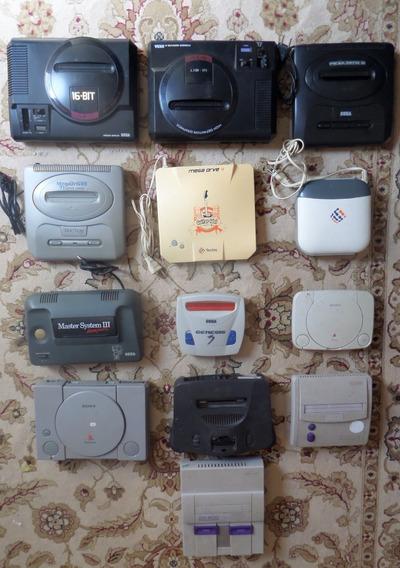 Super Nintendo,mega Driver,master System,ps 1, P Colecionado