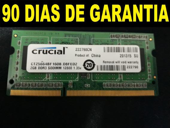 Memoria Ram De 2gb Para Laptop Ddr3 3 Meses De Garantia