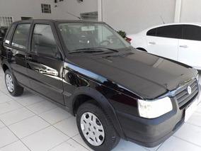Fiat Uno 1.0 Mpi Mille Fire Preto 8v Flex 4p