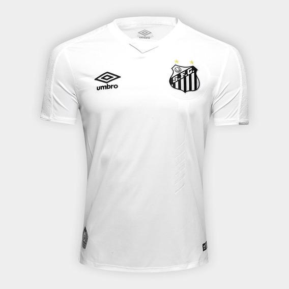 Camisa Santos I Branca 2019 Personalizável Frete Grátis