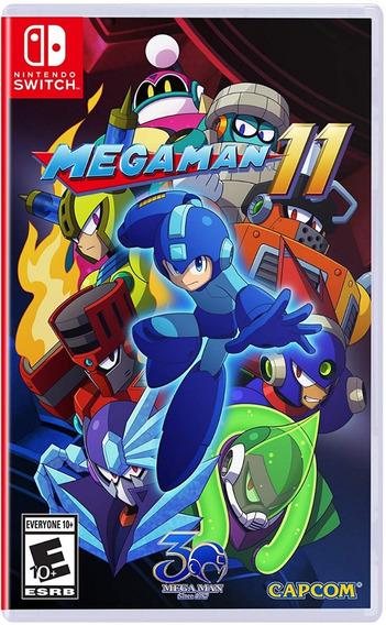 Mega Man 11 - Switch - Midia Fisica! Sem Juros!!!!