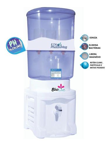 Imagem 1 de 3 de Filtro Água Alcalina Magnetizador + Mineralizador