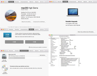 Macbook Pro 13! Mid 2012, Core I5, 8gb Ram Y 500 Gb!