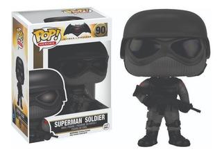 Funko Pop : Batman V Superman - Superman Soldier #90