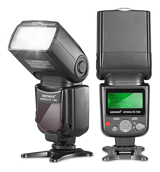 Neewer Vk750 Ii I-ttl Speedlite Flash With Lcd Display For N