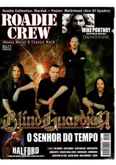 Roadie Crew Blind Guardian O Senhor Do Tempo Nº 141