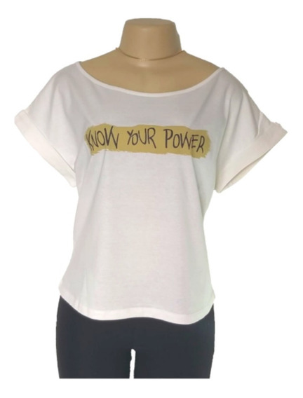 Blusa T- Shirt Moda Feminina Blusinha Roupa Feminina