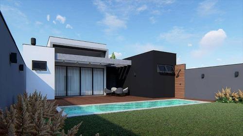 Imagem 1 de 4 de Casa À Venda, 201 M² Por R$ 1.300.000,00 - Condomínio Villa Olympia - Sorocaba/sp - Ca8581