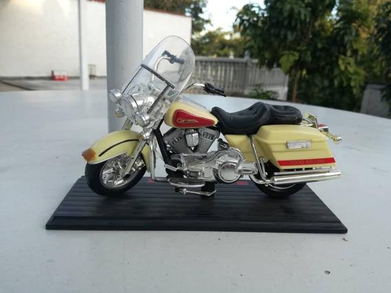 Moto Escala 1:12 Para Colección