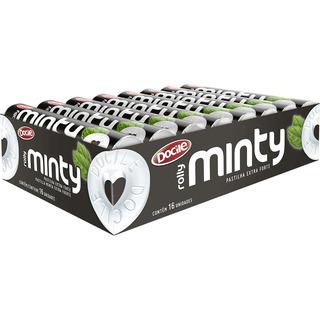 Pastilha Minty Rolly Extraforte Docile - 16 Unid. De 29g