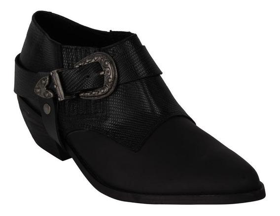 Zapato Zappa Mujer Negro - X420