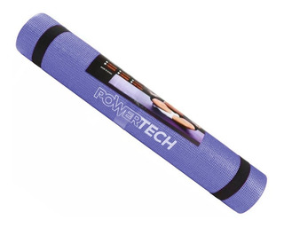Mat Yoga Colchoneta Pilates 6mm Pvc Enrollable Con Tira