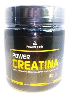 Creatina Pura Monohidratada 300g Powerfoods - Power Creatina