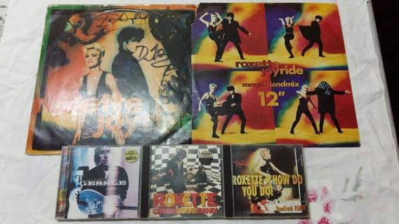 Roxette Maxi Joyride Y 1 Cd Album + Cd How Do You Do