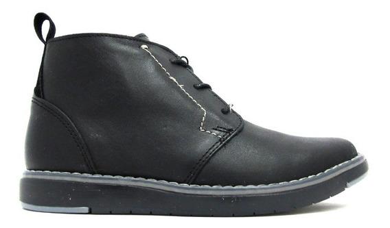 Zapato Escolar Chabelo Niño 82204 Bota Negro 16-21