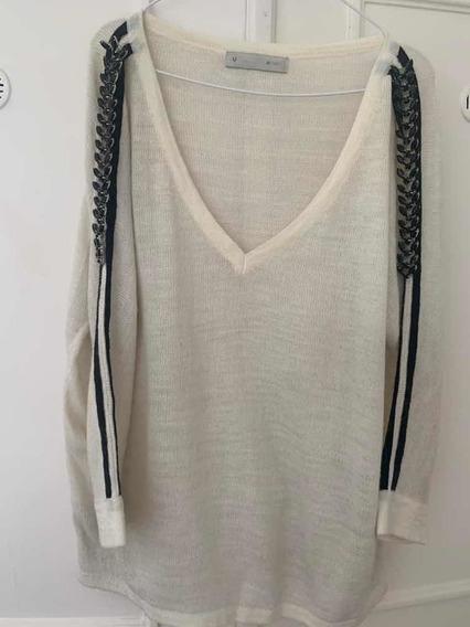 Sweater De Lana Blanco