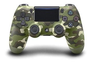 Joystick Sony Dualshock 4 green camouflage