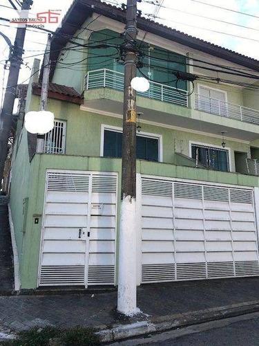 Imagem 1 de 1 de Lindo Sobrado 2 Dormitórios Com Suítes E 4 Vagas À Venda, 170 M² Por R$ 750.000 - Limão (zona Norte) - São Paulo/sp - (11)97200-3334 - Cláudio. - So1499