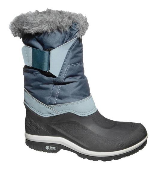 Botas Impermeables Cálidas Senderismo Nieve Dama Sh500 X-war