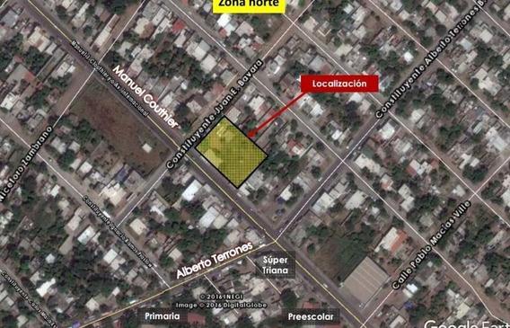 Terreno En Venta 2,400.00 M2 Por El Boulevar Manuel Cloutier