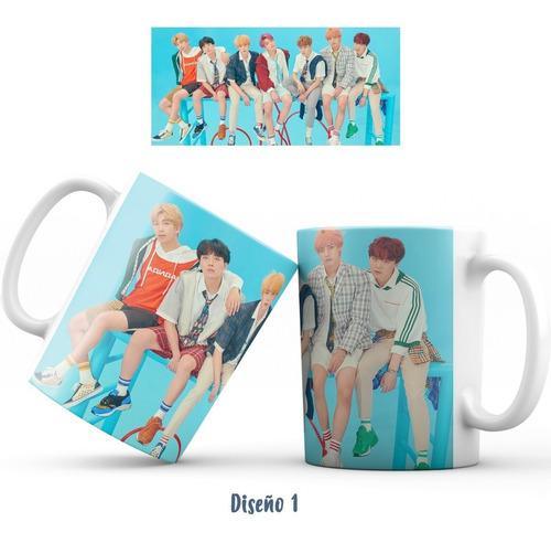 Mug Pocillo Bts K-pop ( Personalizable)