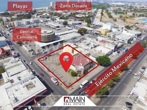 Terreno Comercial En Palos Prietos, Mazatlán